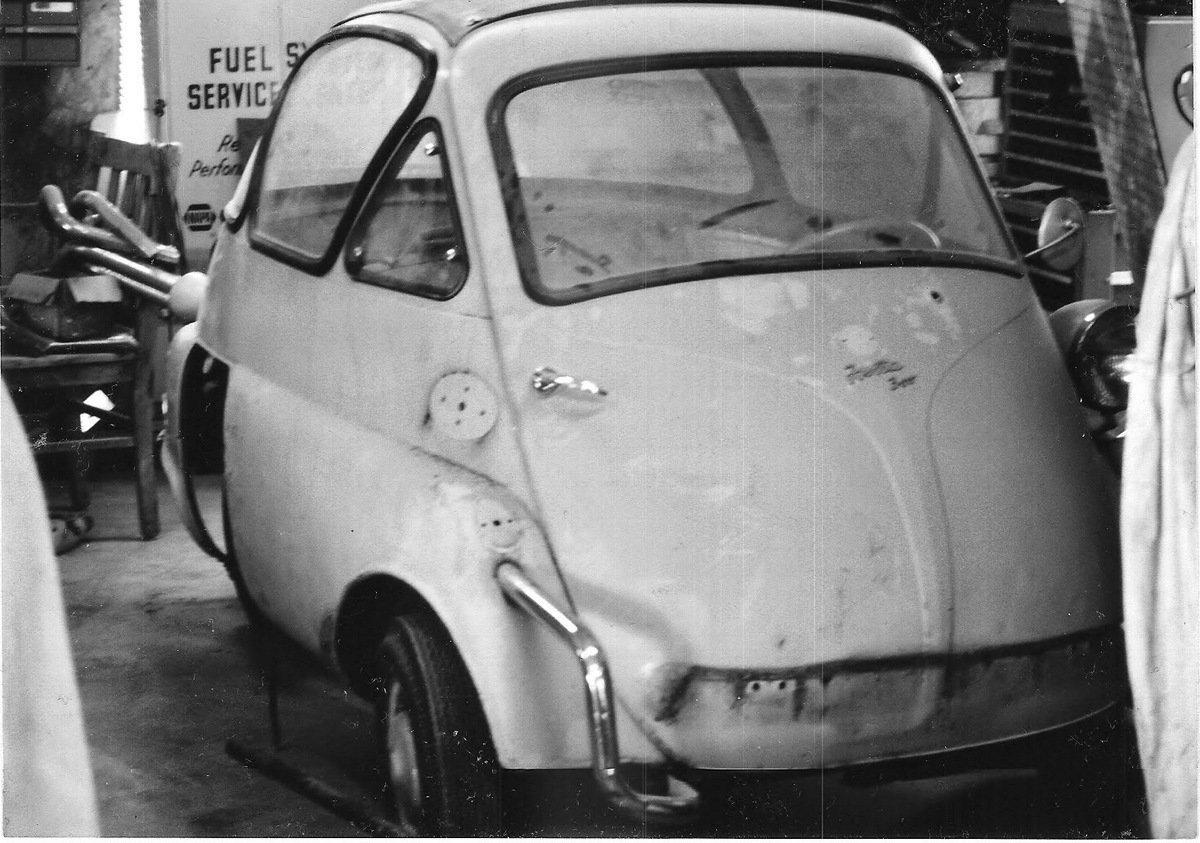 1956 Bmw Isetta 300 Bubble Window Chicago Car Club