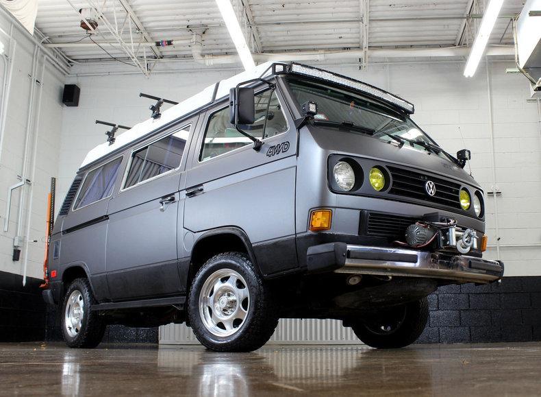 1987 Volkswagen Vanagon Syncro Westfalia