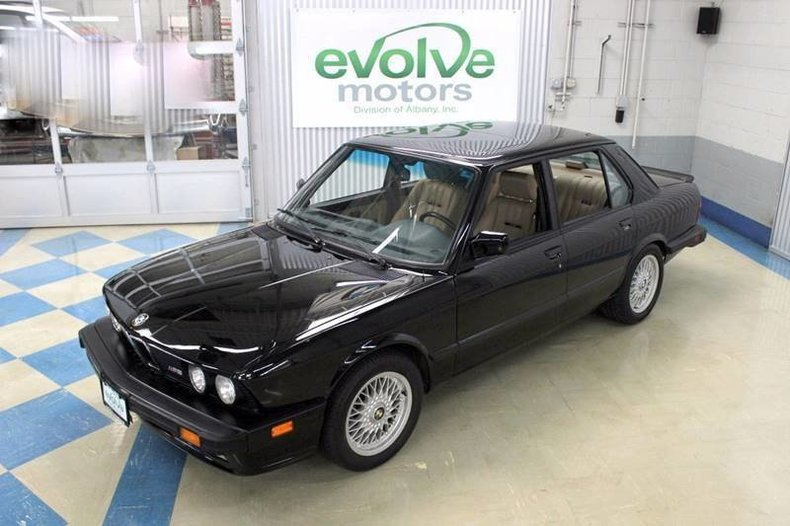 For Sale 1988 BMW M5