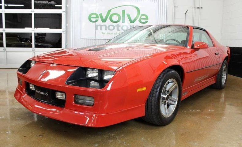 1985 chevrolet camaro z28 2dr hatchback for sale 81812 mcg. Black Bedroom Furniture Sets. Home Design Ideas