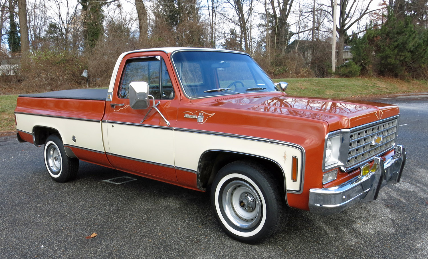 Image result for 76 chevy pickup orange