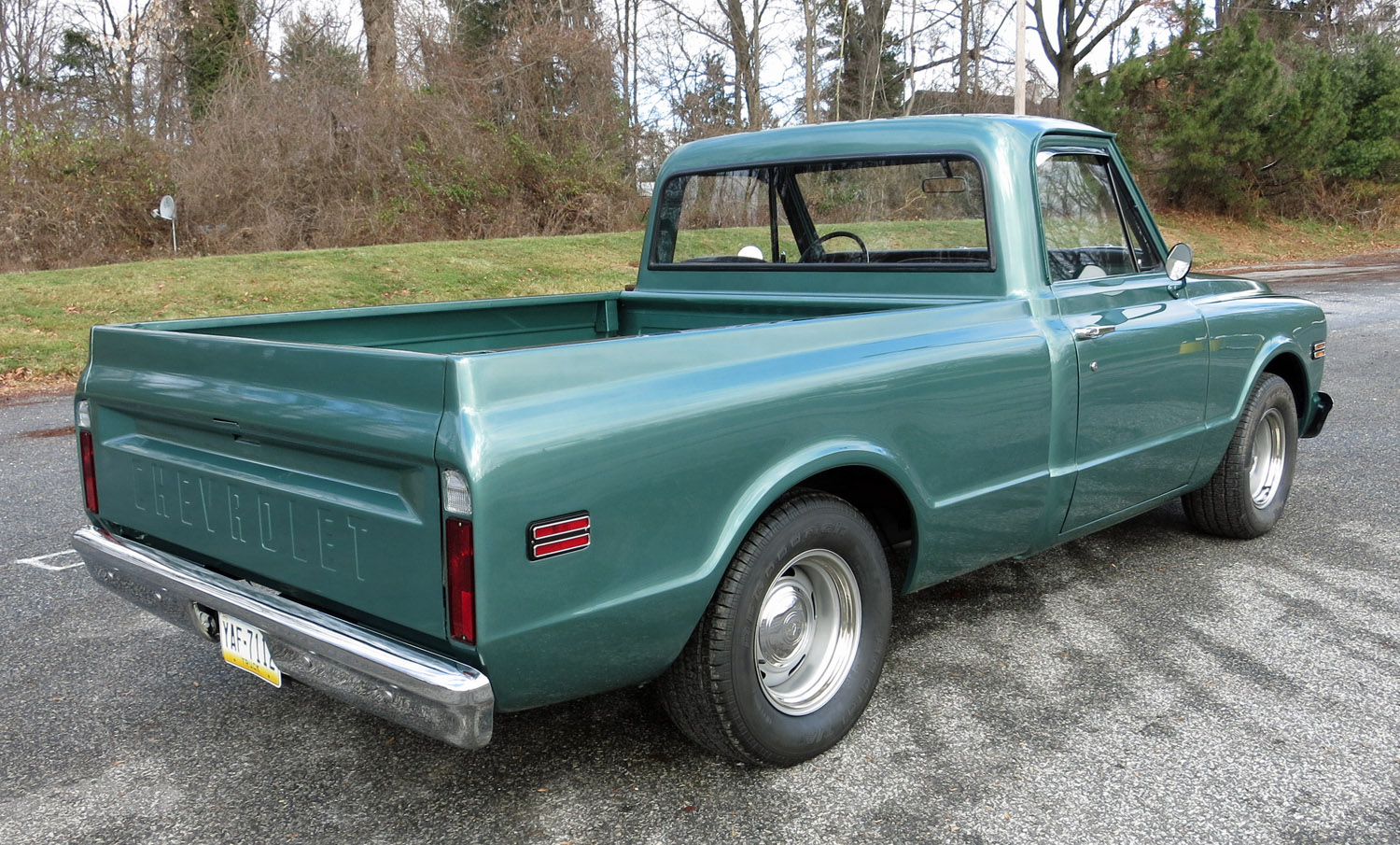 1968 Chevrolet 1 2 Ton Pickup Connors Motorcar Company Chevy Truck