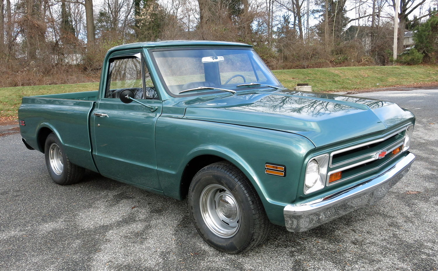 1968 Chevrolet 1 2 Ton Pickup Connors Motorcar Company Chevy C10 Lifted