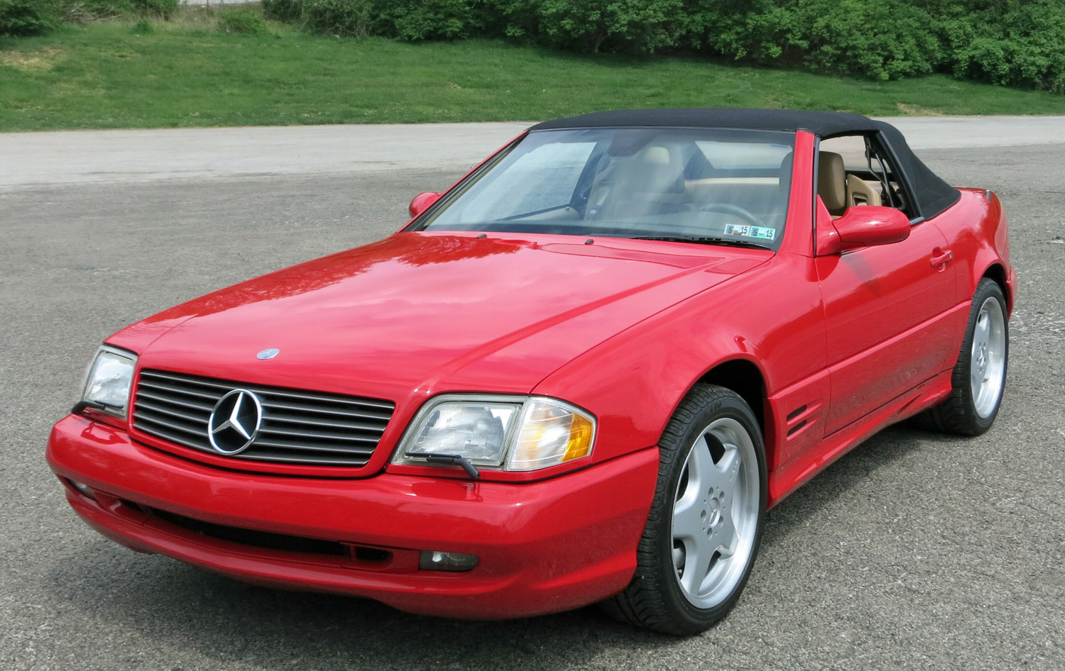 2001 Mercedes-Benz SL500