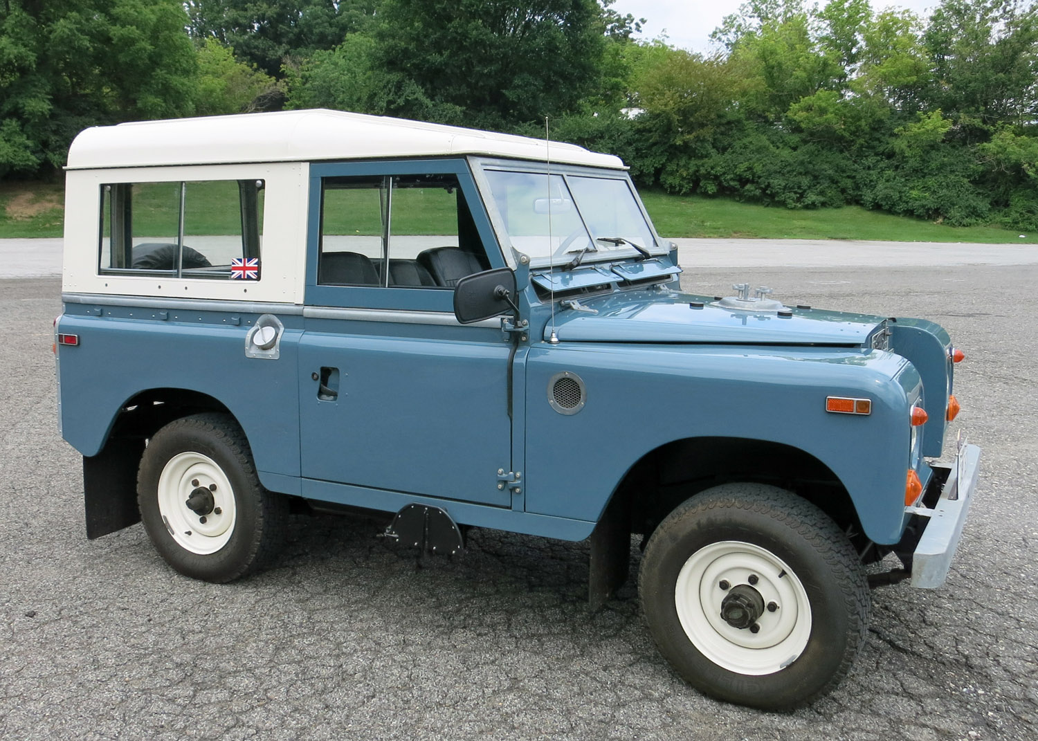 What Color To Paint Doors 1970 Land Rover Series Iia Connors Motorcar Company