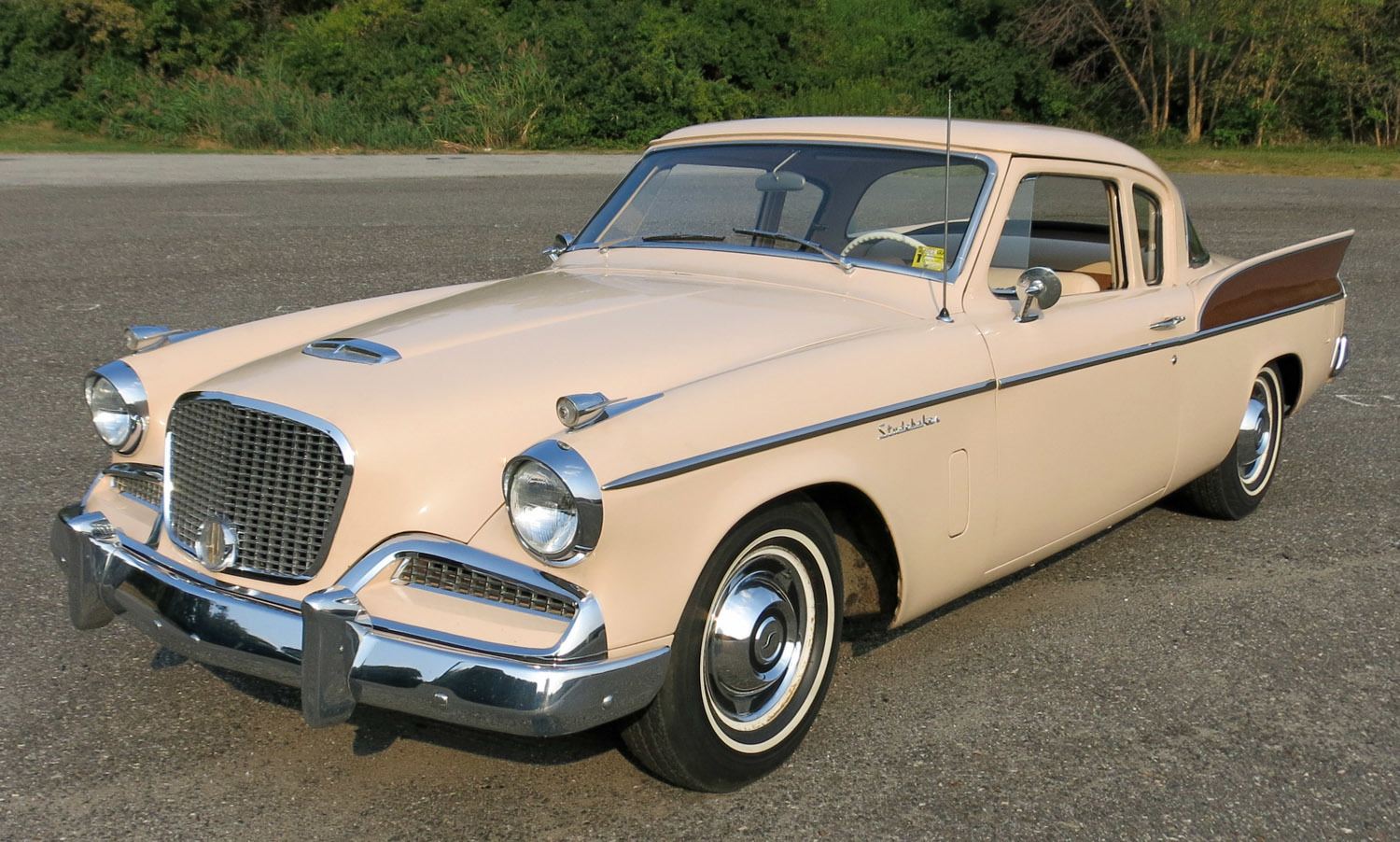 White Tire Paint >> 1958 Studebaker Silver Hawk | Connors Motorcar Company