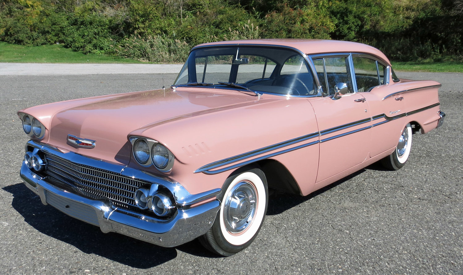 1958 Chevrolet Biscayne Connors Motorcar Company