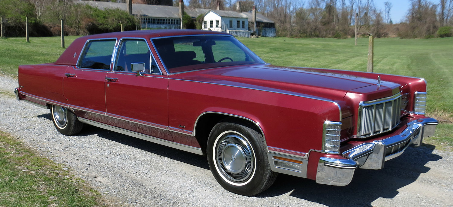 1976 Lincoln Town Car Connors Motorcar Company