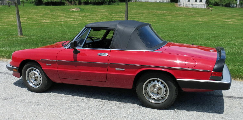 1986 Alfa Romeo Spider