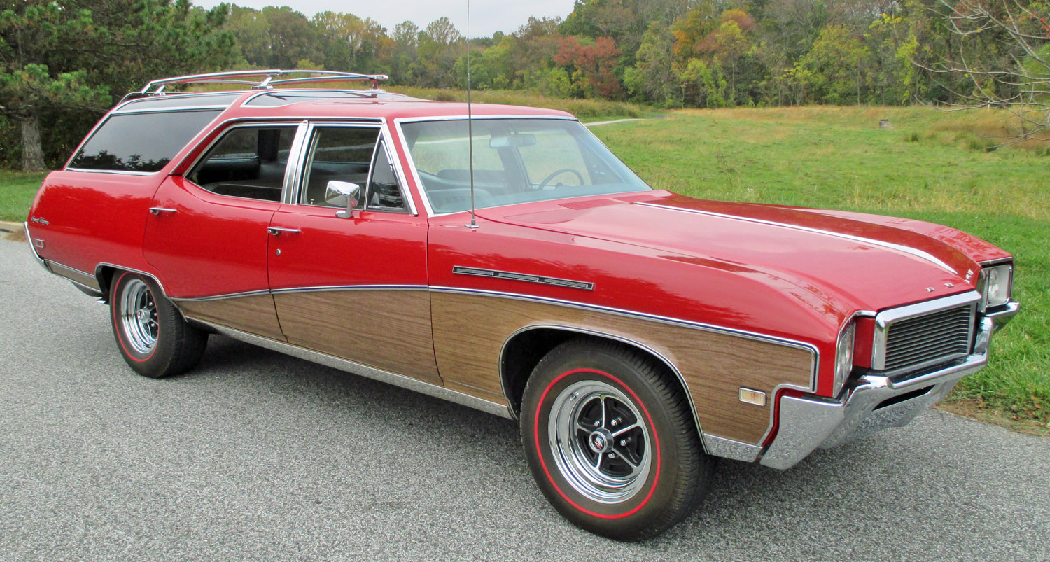 1968 buick sport wagon connors motorcar company. Black Bedroom Furniture Sets. Home Design Ideas
