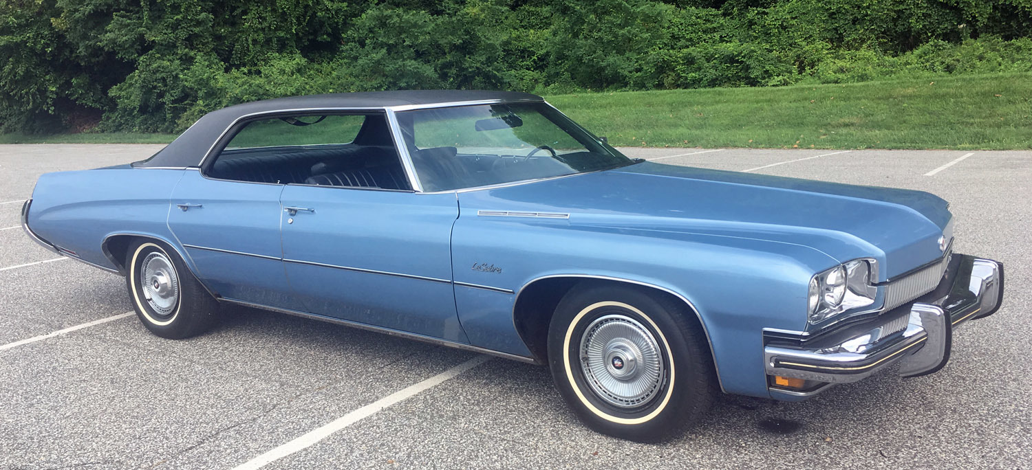 1973 Buick Lesabre Connors Motorcar Company