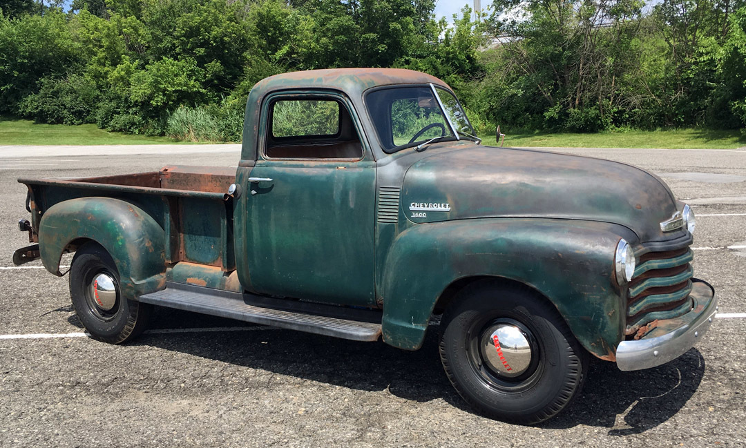 1949 Chevrolet 3 Window Pickup Connors Motorcar Company
