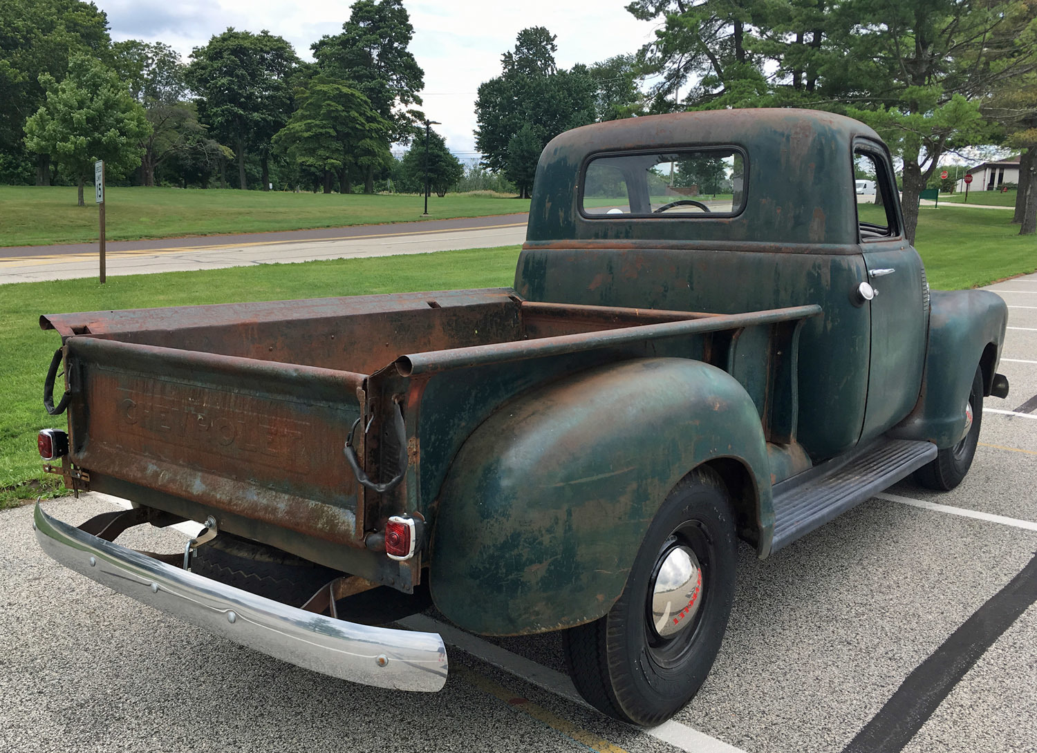 1949 Chevrolet 3 Window Pickup Connors Motorcar Company Chevy Truck Heater