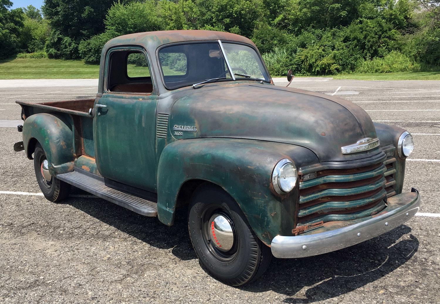 1949 Chevrolet 3 Window Pickup Connors Motorcar Company Chevy Truck