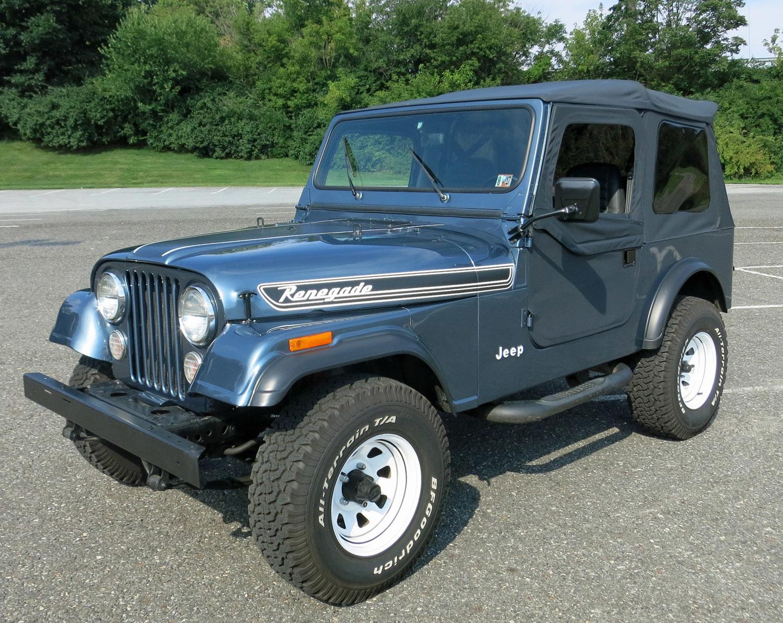 1986 Jeep CJ 7