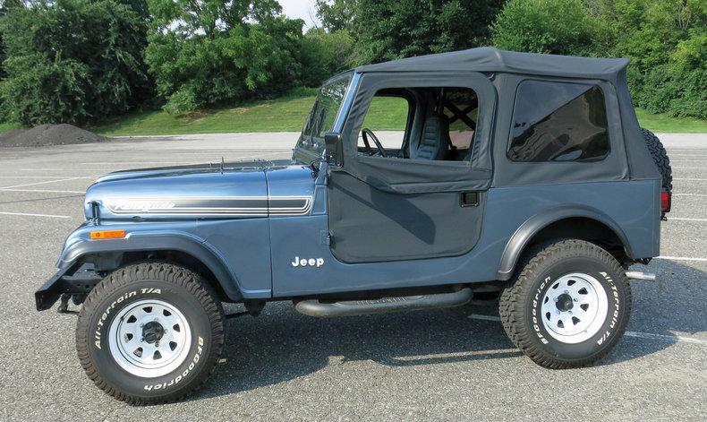 1986 1986 Jeep CJ 7 For Sale