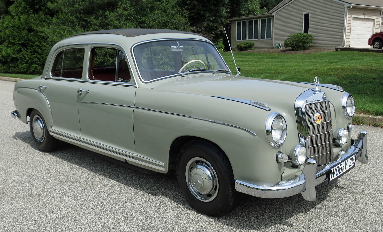 1959 mercedes benz 220s connors motorcar company for Mercedes benz 220 s