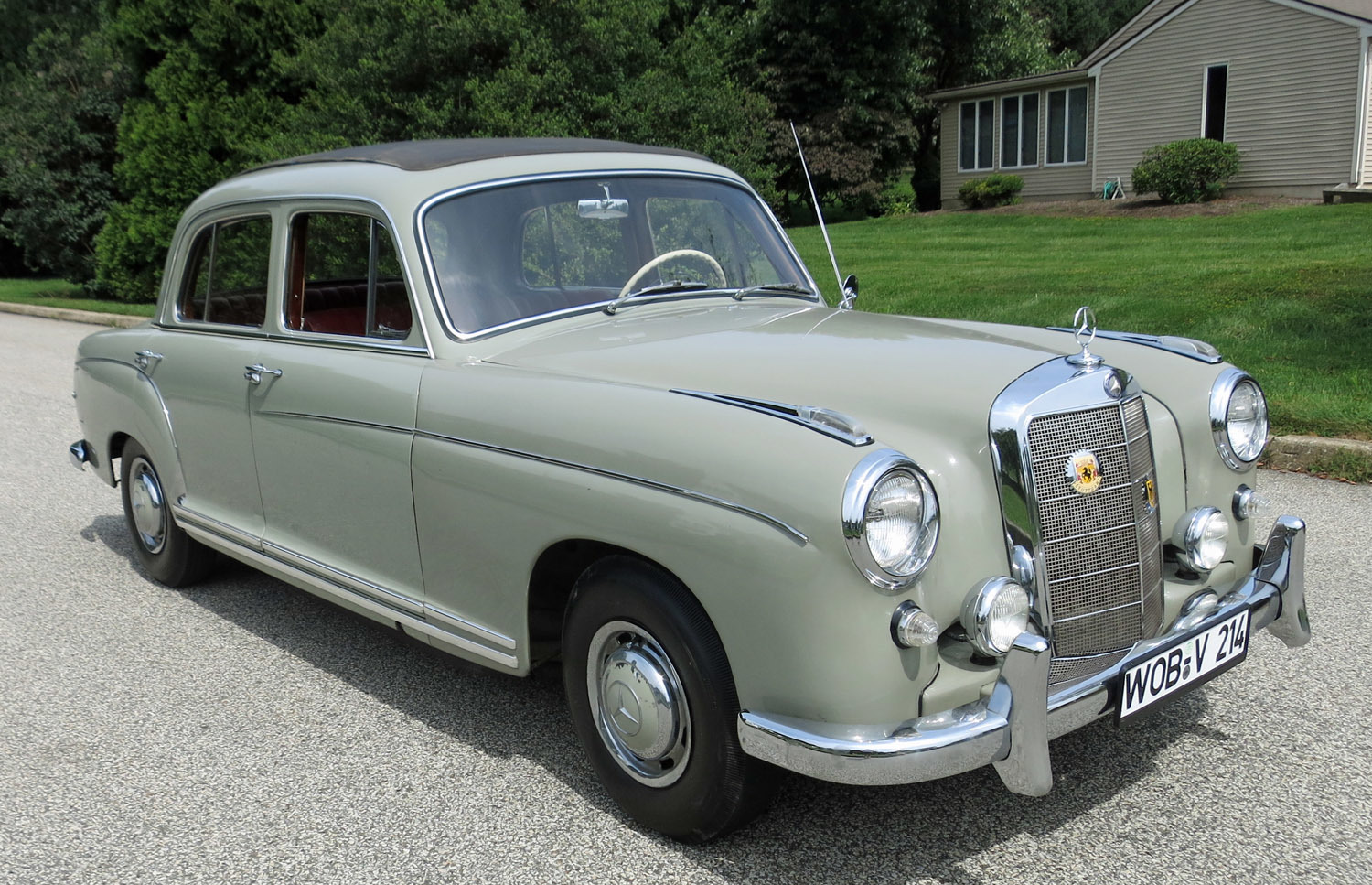1959 mercedes benz 220s connors motorcar company for 1959 mercedes benz 220s