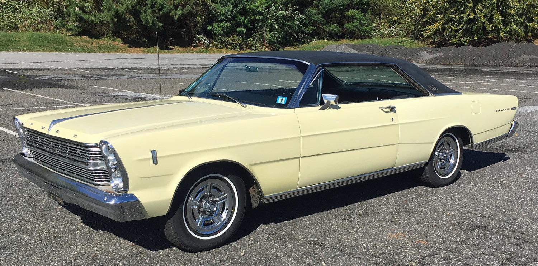 1966 Ford Galaxie 500 For Sale 72678 Mcg