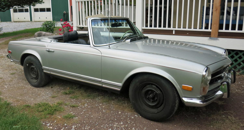 21681472322aa hd 1970 mercedes benz 280sl