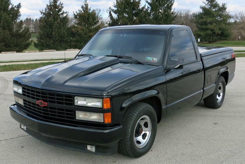 1990 chevrolet 454 ss silverado for sale 80389 mcg. Black Bedroom Furniture Sets. Home Design Ideas
