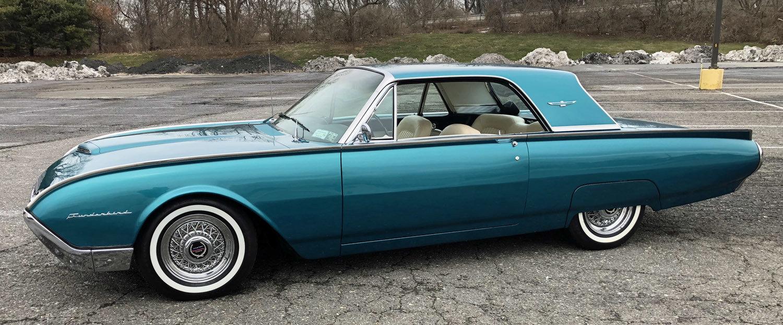 1961 Ford Thunderbird For Sale 83079 Mcg