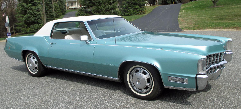 Steering Wheel Restoration >> 1968 Cadillac Eldorado | Connors Motorcar Company