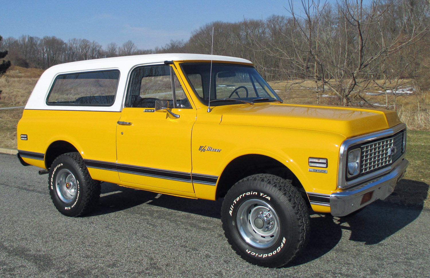 1972 Chevrolet Blazer on 1972 gmc truck interior colors