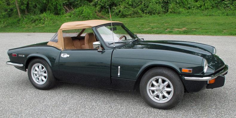 1971 triumph spitfire connors motorcar company. Black Bedroom Furniture Sets. Home Design Ideas