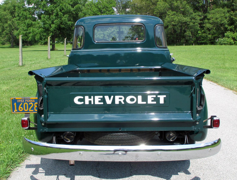 1952 Chevrolet 5-Window Pickup