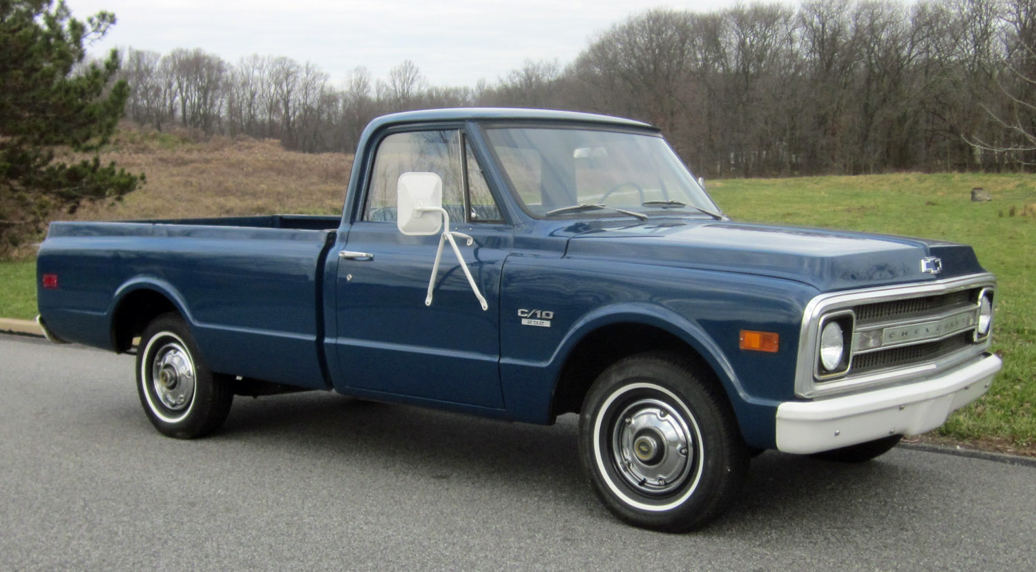 Pickup chevy c10 pickup truck : 1969 Chevrolet C10 | Connors Motorcar Company