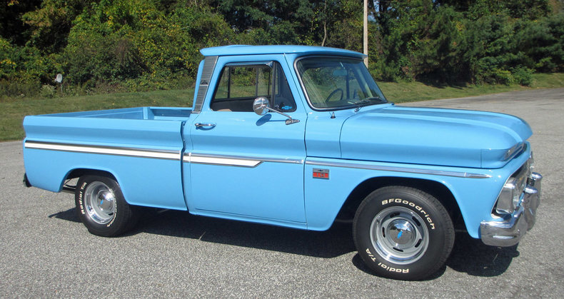 1966 Chevrolet 1 2 Ton Pickup Connors Motorcar Company
