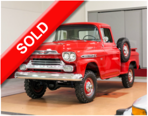 1959 1959 Chevrolet Apache For Sale