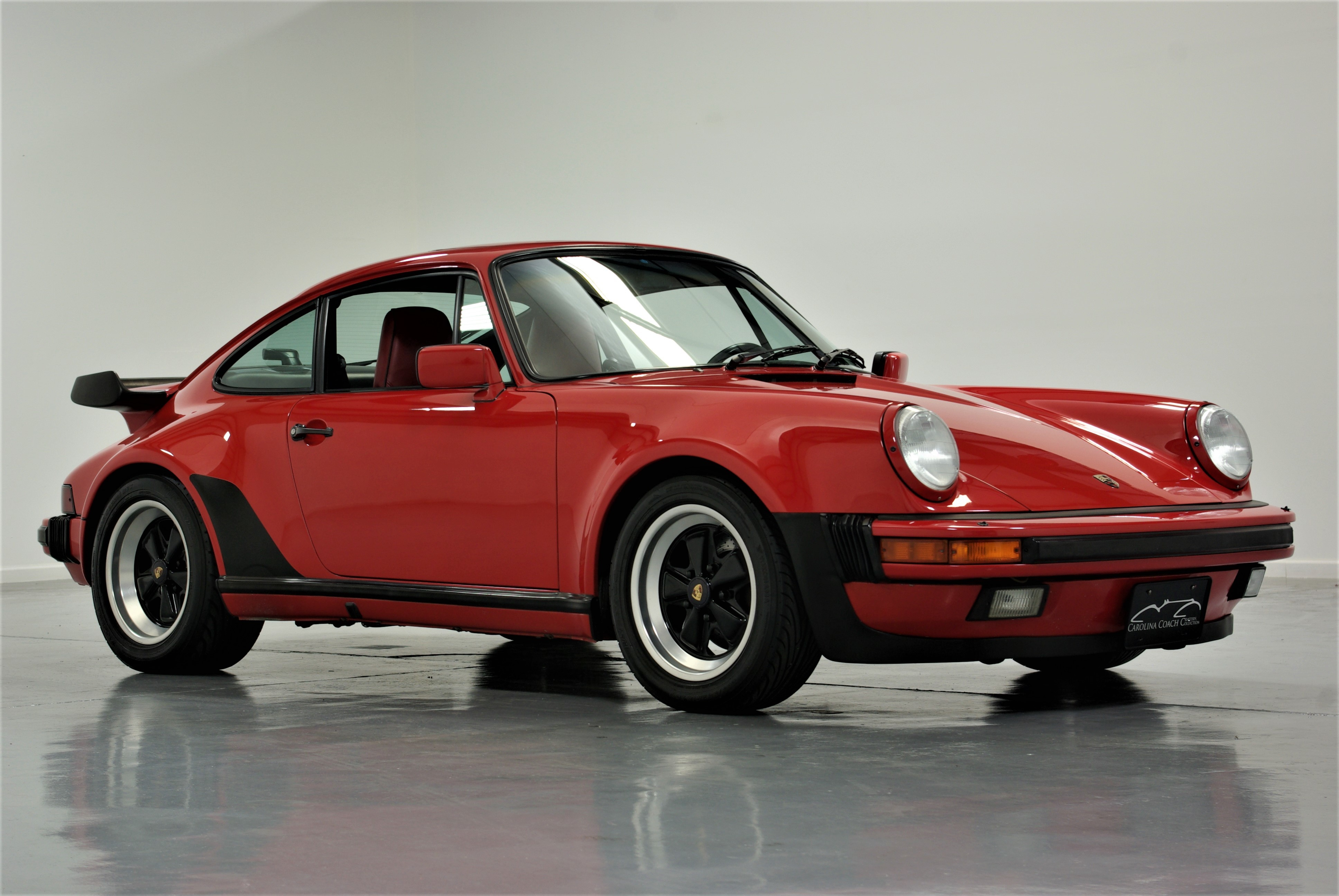 Porsche 930 For Sale >> 1987 Porsche 930 | Carolina Coach Collection