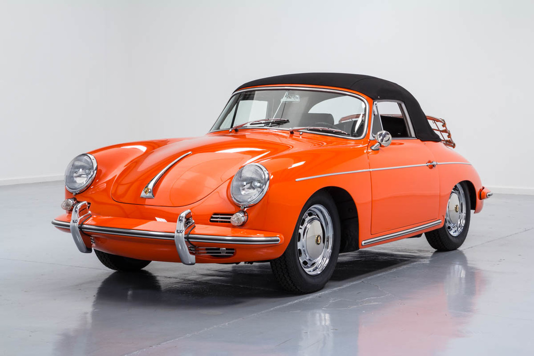 1965 Porsche 356 Carolina Coach Collection
