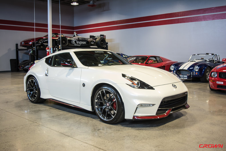 2015 nissan 370z nismo for sale 52928 mcg. Black Bedroom Furniture Sets. Home Design Ideas