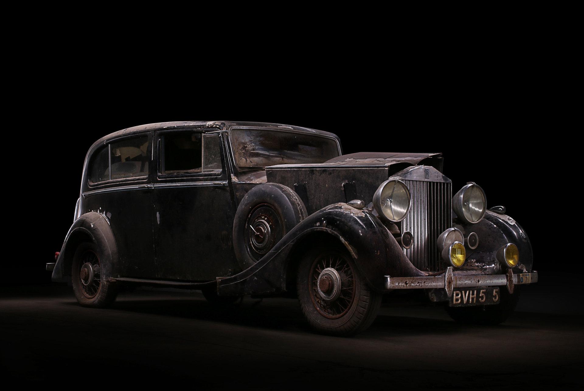 1939 Rolls-Royce Wraith Rippon Bros