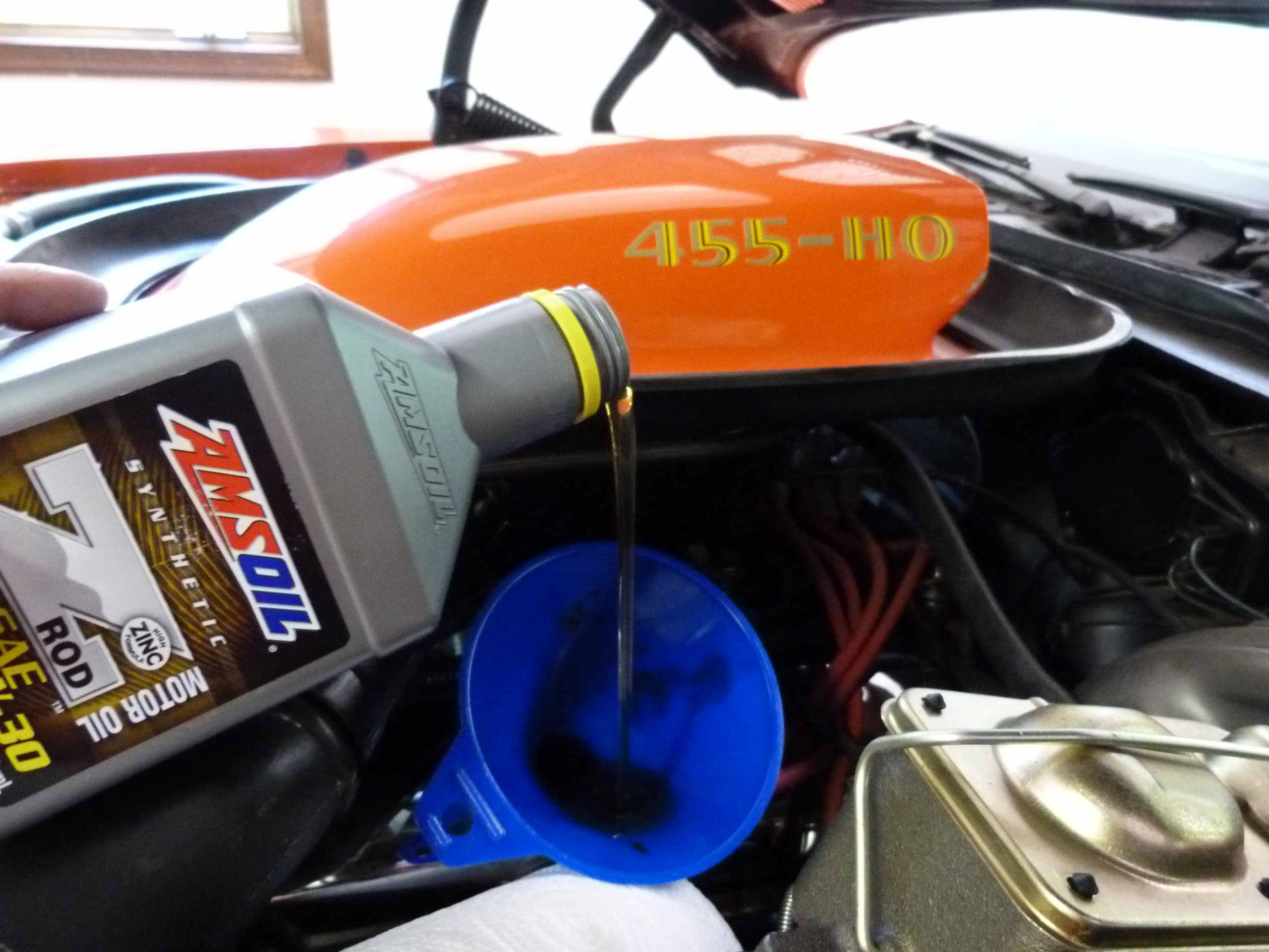 classic car oil change