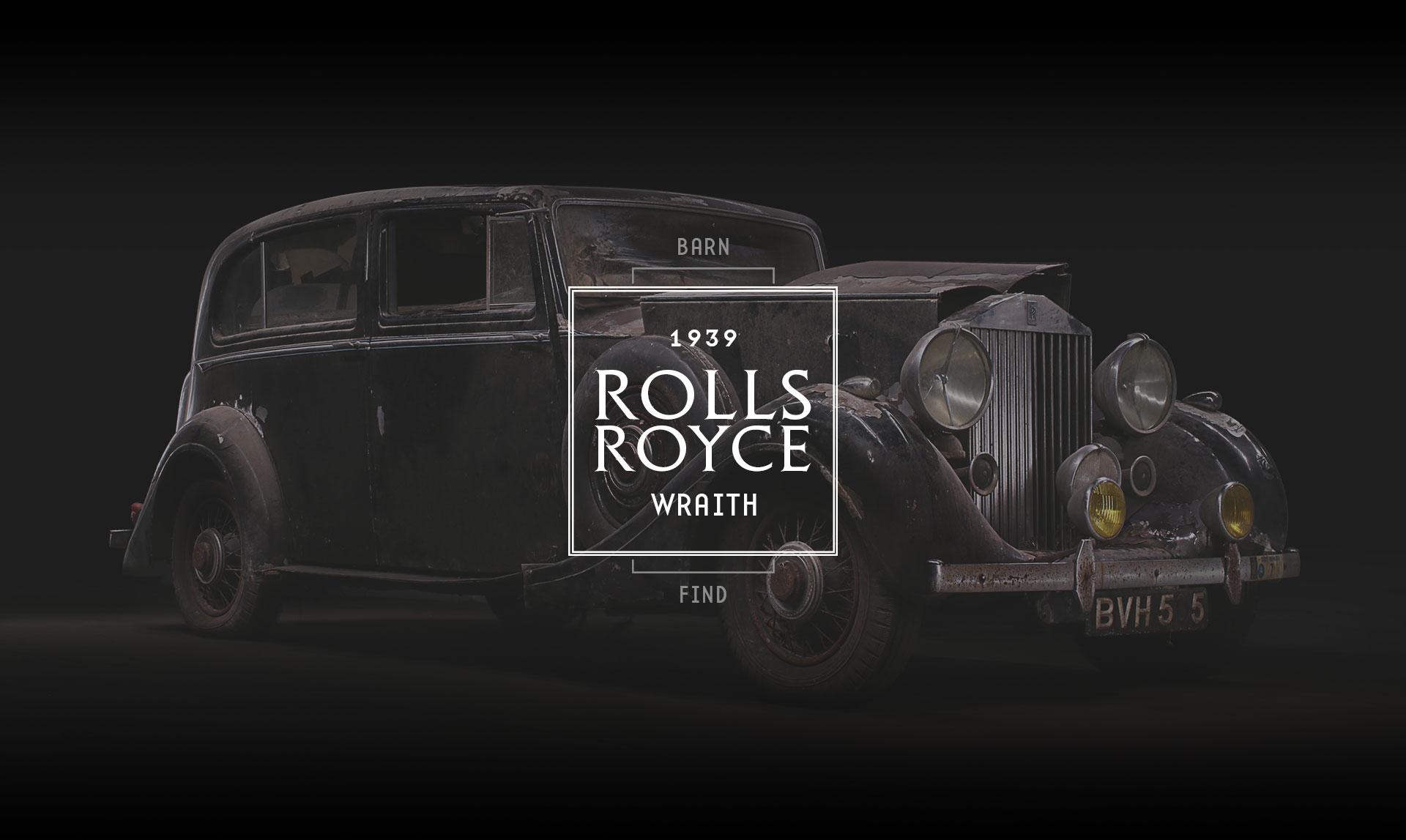 1939 Rolls Royce Wraith Restoration