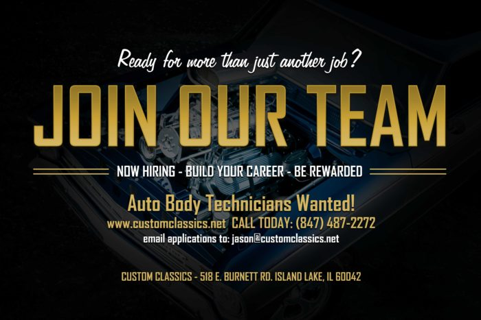 Full Time Auto Body Technicians Wanted Signing Bonus