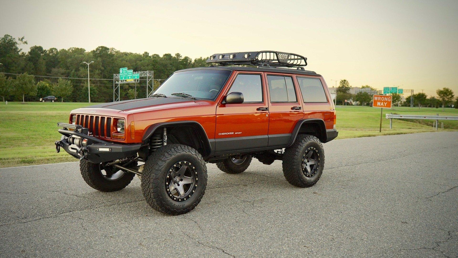 ... 7773 | 1999 Jeep Cherokee 4dr Sport 4WD | Davis Autosports ...