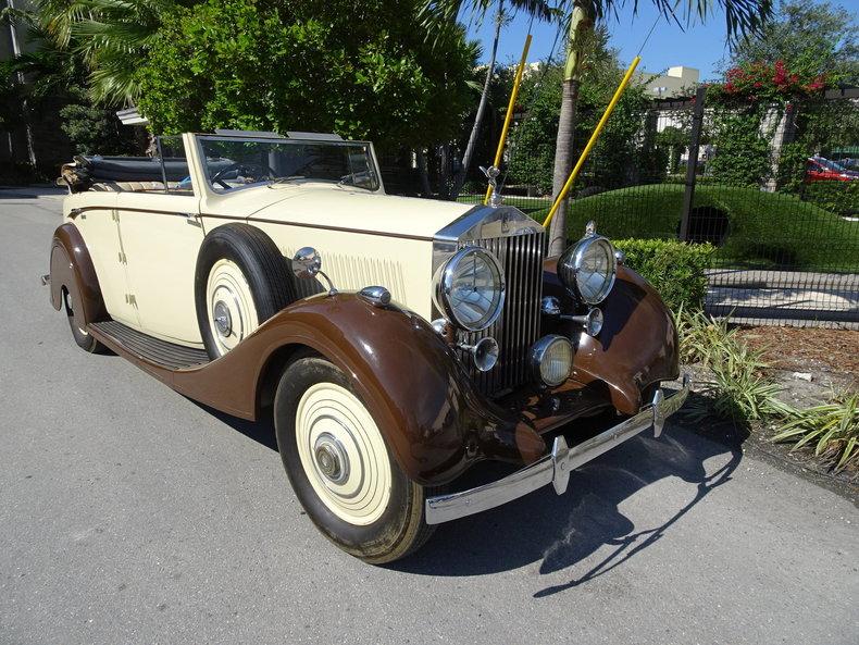 1938 Rolls-Royce 25/30 4 door DHC