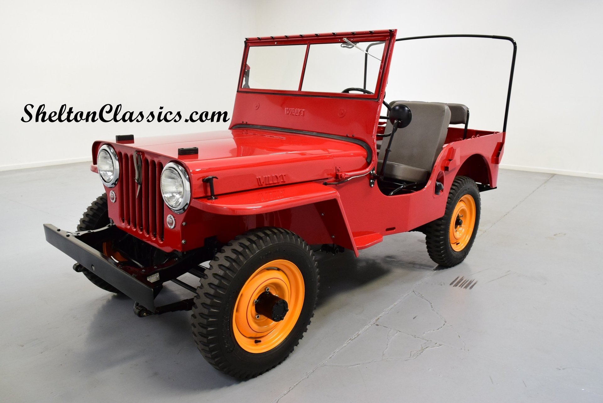 1946 willys cj2a jeep 4x4 for sale 74458 mcg. Black Bedroom Furniture Sets. Home Design Ideas