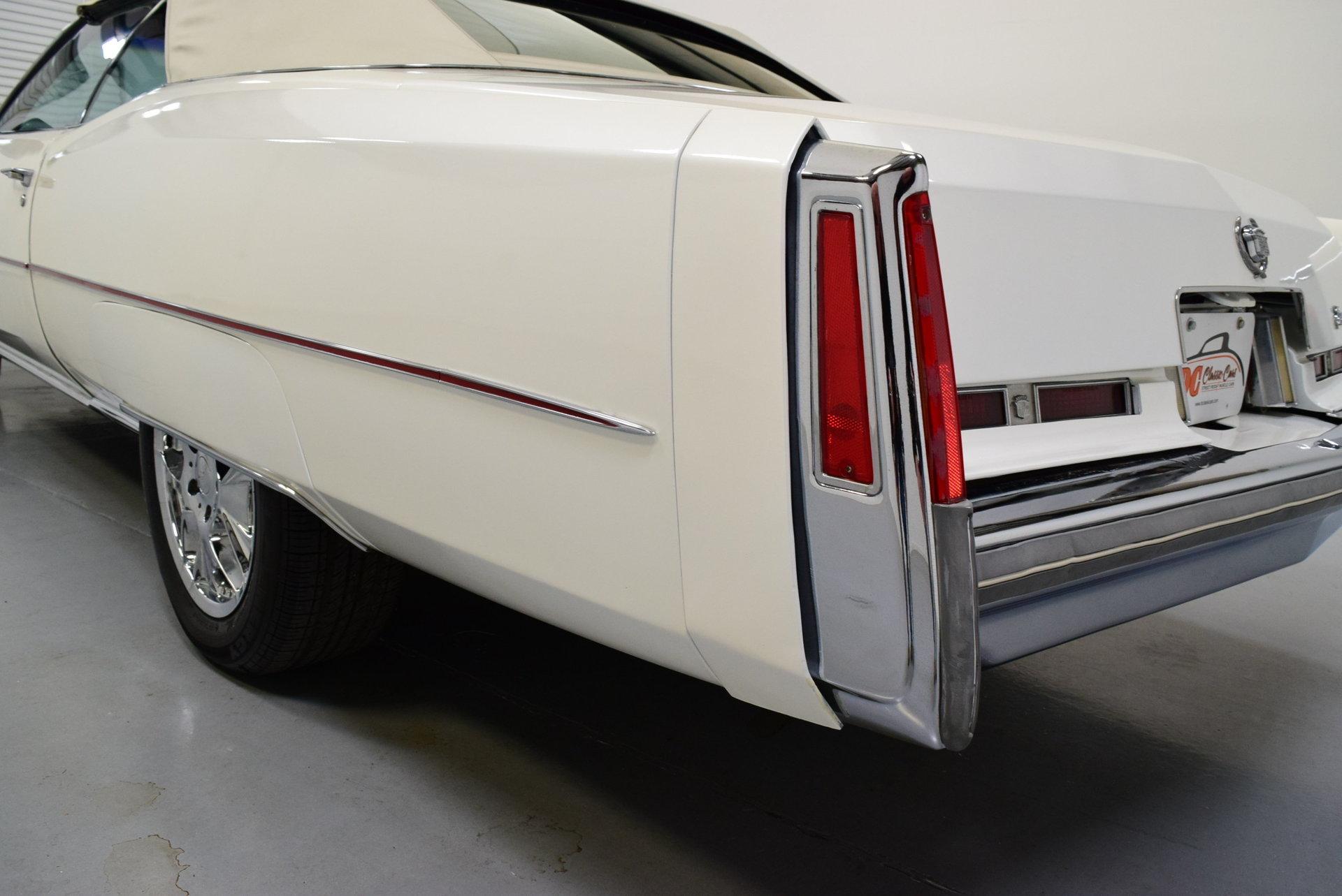 1974 Cadillac Eldorado Convertible For Sale 76231 Mcg
