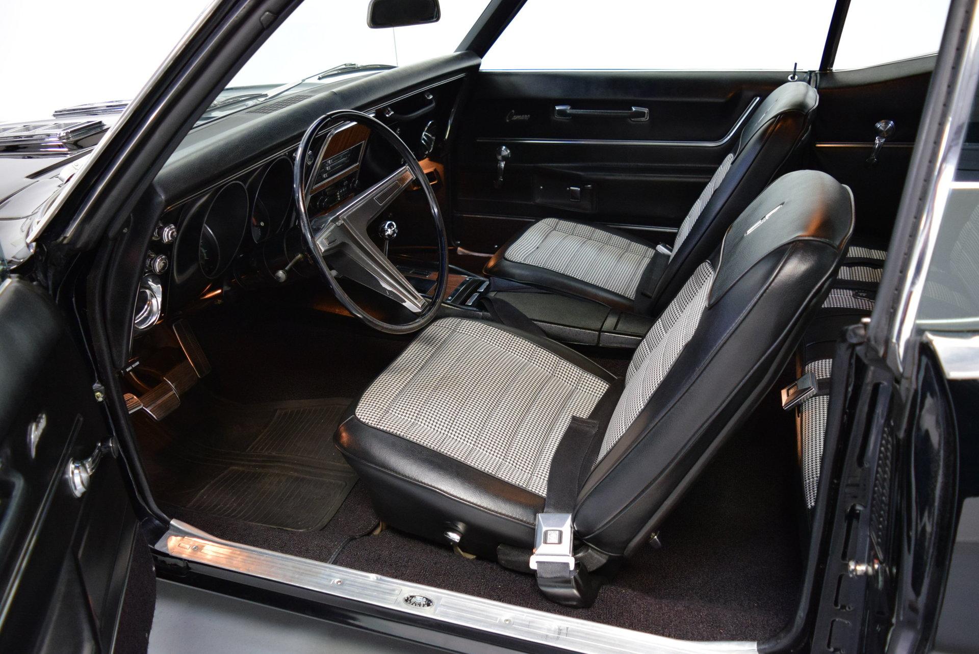 1968 Chevrolet Camaro Shelton Classics Performance Chevy Rs Ss