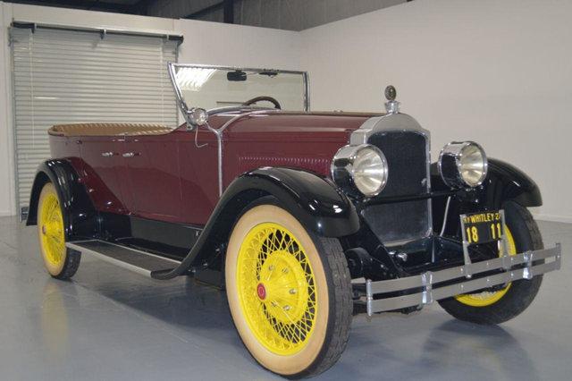 1927 Packard Phaeton -5P --: 1927 Packard Phaeton -5P