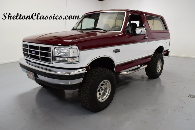 1993 ford bronco xlt for sale 66217 mcg. Black Bedroom Furniture Sets. Home Design Ideas