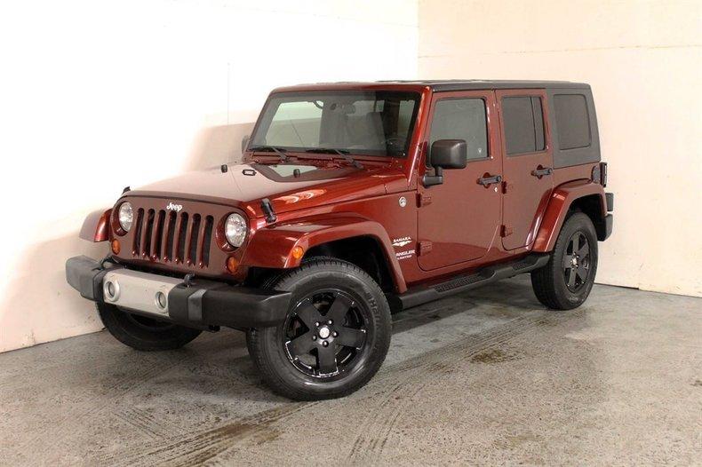 2009 jeep wrangler unlimited sahara for sale 79319 mcg. Black Bedroom Furniture Sets. Home Design Ideas