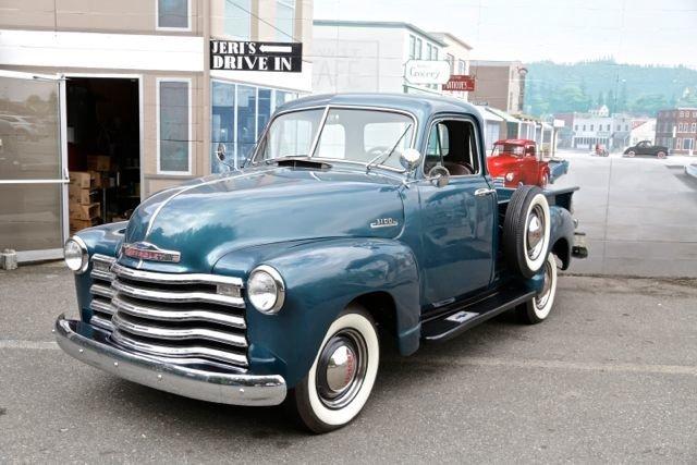 1952 Chevrolet blue