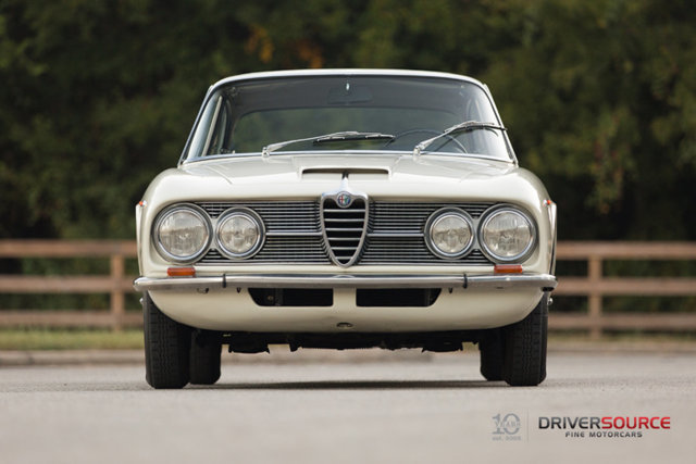 1965 Alfa Romeo 2600 Sprint Driversource Fine Motorcars